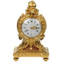 Louis XVI Ormolu Clock by Jean-Baptiste Baillon
