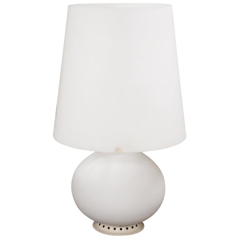 20th Century Italian Design Table Lamp by Max Ingrad for Fontana Arte, 1954 For Sale