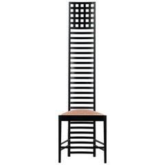 Charles Rennie Mackintosh, Hill House Chair 1 Cassina, Design 1902