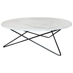 Berlin Round Marble Cocktail Table