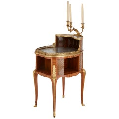 Gilt Bronze-Mounted Tulipwood, Sycamore and Marquetry Writing Table by Dasson