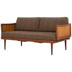 2-Seat Sofa in Teak by Peter Hvidt & Orla M. Mølgaard