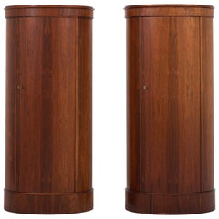 Set of Two Pedestal Cabinets by Johannes Sorth