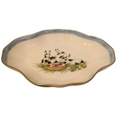 Country Porcelain Pastry Dish Easter Design Sofina Boutique Kitzbühel