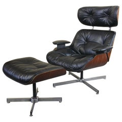 Lounge Chair by Selig in the Style of the Eames 670