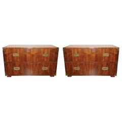 Pair of 1970s Chests Made by Henredon