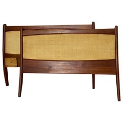 Midcentury Swedish Teak Bed Borders