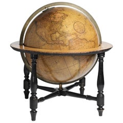 19th Century English 18-inch Globe, Cary's 1840