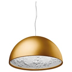 Flos Skygarden S2 Halogen Pendant Light in Gold by Marcel Wanders
