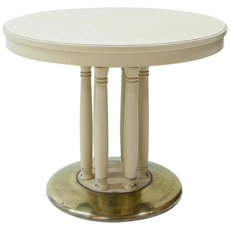 Salon Table, Viennese Secession, Early 20th Century For Sale