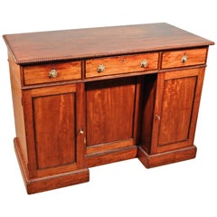 Fine George III Mahogany Dressing Table