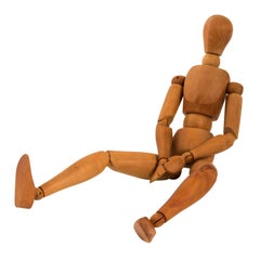 Articulated Wood Mannequin