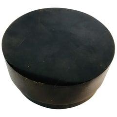 R&Y Augousti Round Pen Shell Box