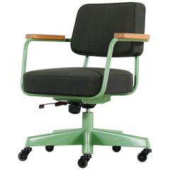Jean Prouvé, Fauteuil Direction Pivotant 1951 Limited RAW Office Edit, Chair