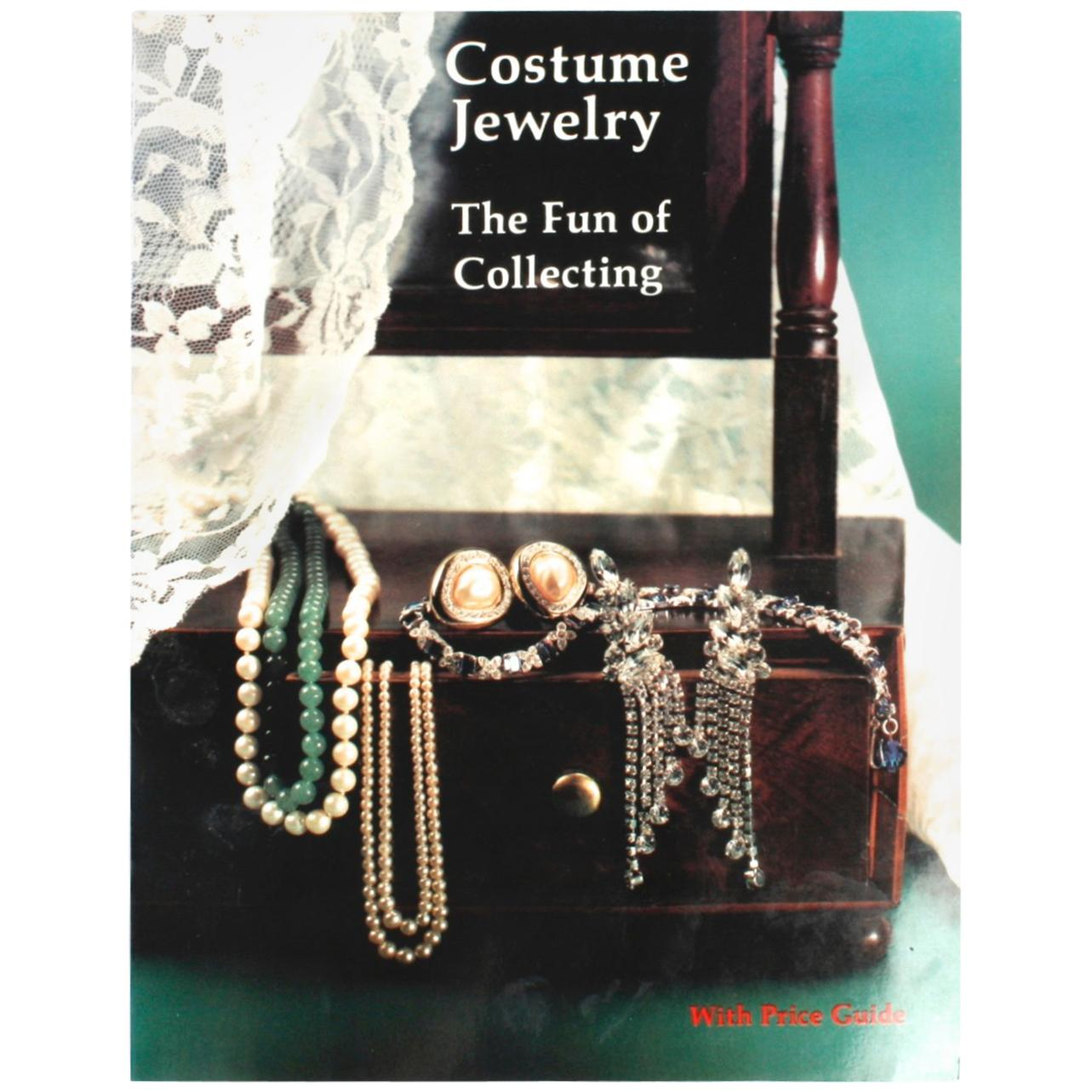 """""""Costume Jewelry, The Fun of Collecting with Price Guide"""", First Edition"""