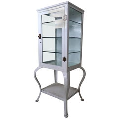 Very Rare Industrial Medical Cabinet