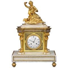 Louis XVI Bracket Clock by Lesieur