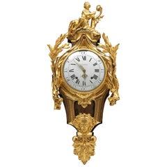 Louis XVI Cartel Clock by Joseph Lottin