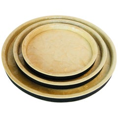 Raul Carrasco Set of Three Round Trays