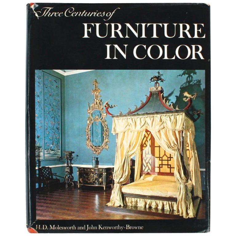 Three Centuries of Furniture in Color, by H.D. Molesworth, 1st Edition For Sale