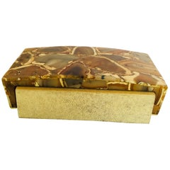 R&Y Augousti Rectangular Shagreen Box