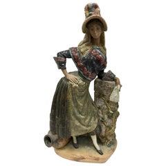 Lladro Signed Martinez Ruiz Large Handmade Porcelain Figurine #203