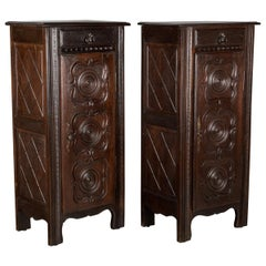 Pair of Country French Cabinets