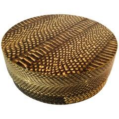 R&Y Augousti Round Python Box