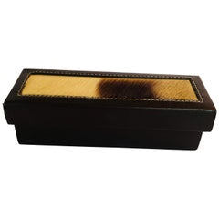 Rectangular African Box with Lid