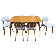American 1950s Dining Room Set with Spider Legs