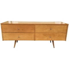 Paul McCobb 4-Drawer Low Dresser for Winchendon Furniture Company