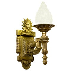 Art Deco Inspired Liberty Sconce