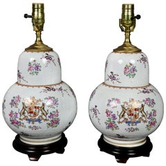 Pair of Samson Porcelain Table Lamps
