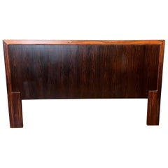 Vintage Danish Modern Rosewood Full or Queen Headboard