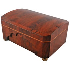 Early 19th Century Mahogany Sewing Box