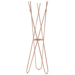 Wdrobe Copper Coat Stand