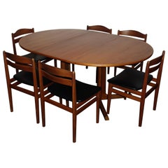 Danish Set Dining Room by Niels Otto Moller & Boltinge Mobelfabrik, 1960s