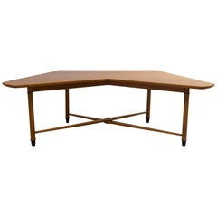"Midcentury One of a Kind ""Butterfly"" Desk by Alf Sture for Hiort & Østlyngen"