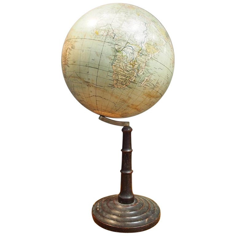 German School Globe from the 1920s For Sale
