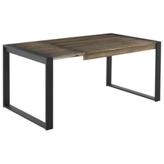 New Extendable Dinning Table for Indoor and Outdoor with Wood Top