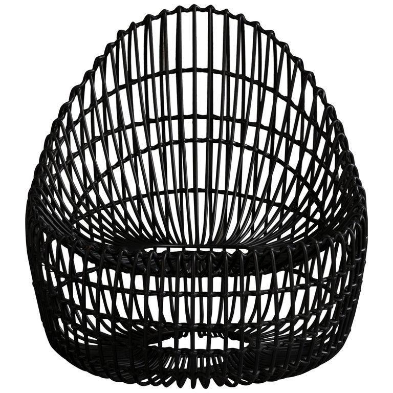 Custom Made Wrought Iron Chair 1