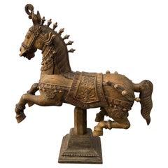 Finnische Karussell-Pferd