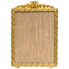 Good Quality French Gilt-Bronze Ormolu Picture Photo Frame