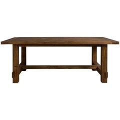 Custom Made Pine Dining Table