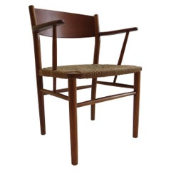 1950s Borge Mogensen Teak Danish Chair Model No 156