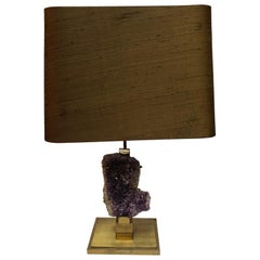 Amethyst Lamp, Color Gold, 1970