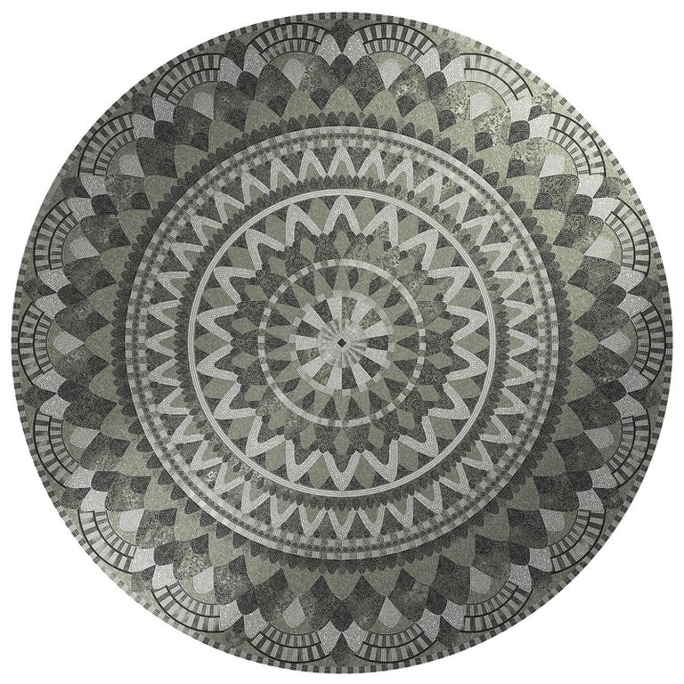 Hermes Round Panel Large by Mutaforma For Sale