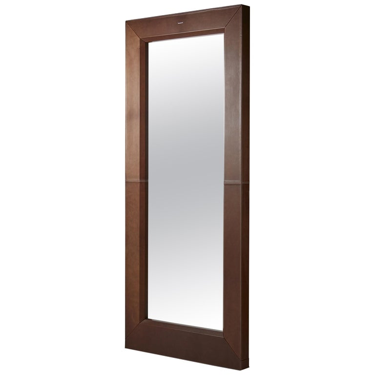 Mirror Designed by Enrico Tonucci for Triangolo, Italy, 1980s For Sale