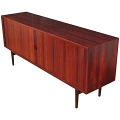 Arne Vodder Model 37 Tambour Door Rosewood Sideboard for Sibast