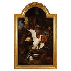 17th Century Oil on Canvas Flemish Still Life Painting, 1660